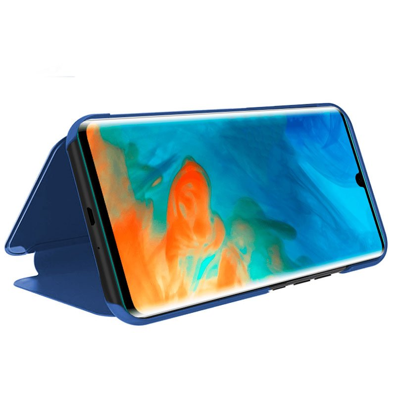 Funda Flip Cover Huawei P30 Pro Clear View Azul