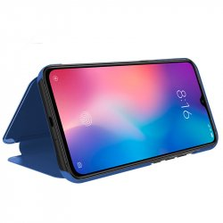 Funda Flip Cover Xiaomi Mi 9 Clear View Azul