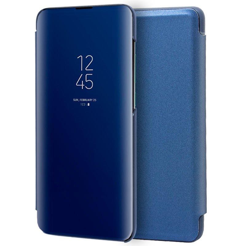 Funda Flip Cover Xiaomi Mi 9 Clear View Azul