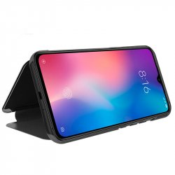 Funda Flip Cover Xiaomi Mi 9 Clear View Negro