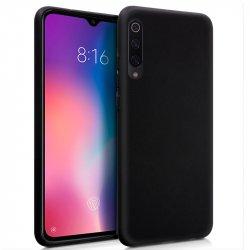 Funda Silicona Xiaomi Mi 9 (Negro)