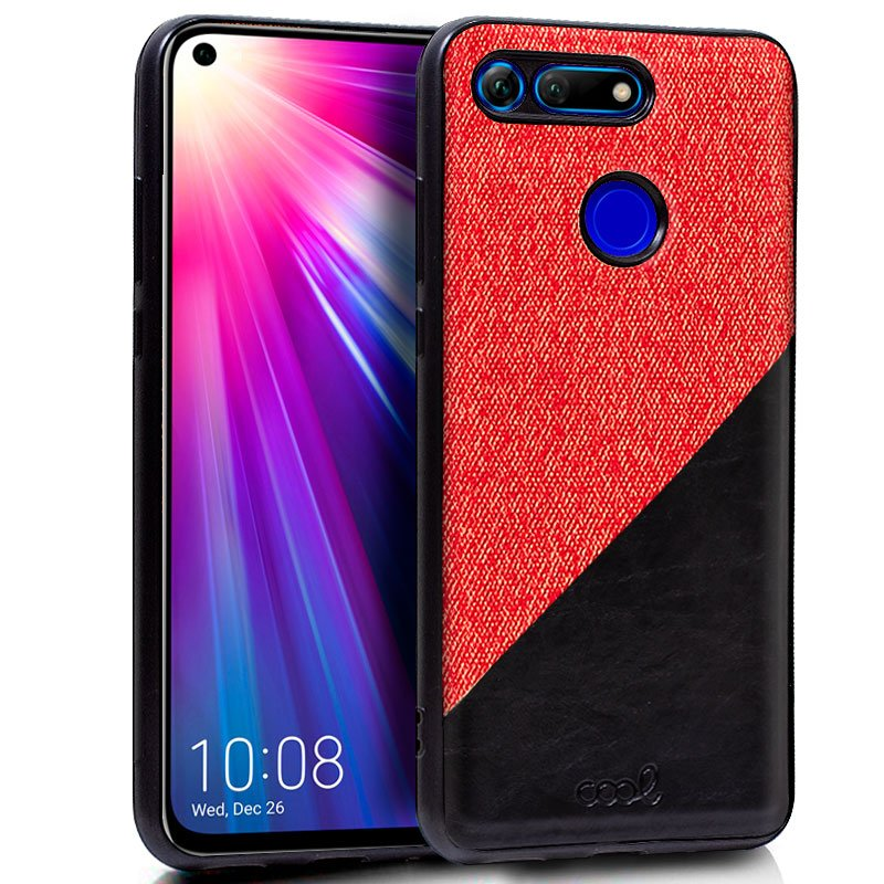 Carcasa Huawei Honor View 20 Bicolor Rojo