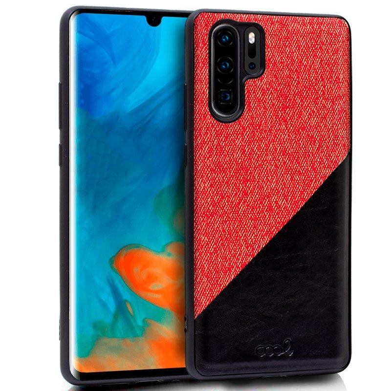 Carcasa Huawei P30 Pro Bicolor Rojo