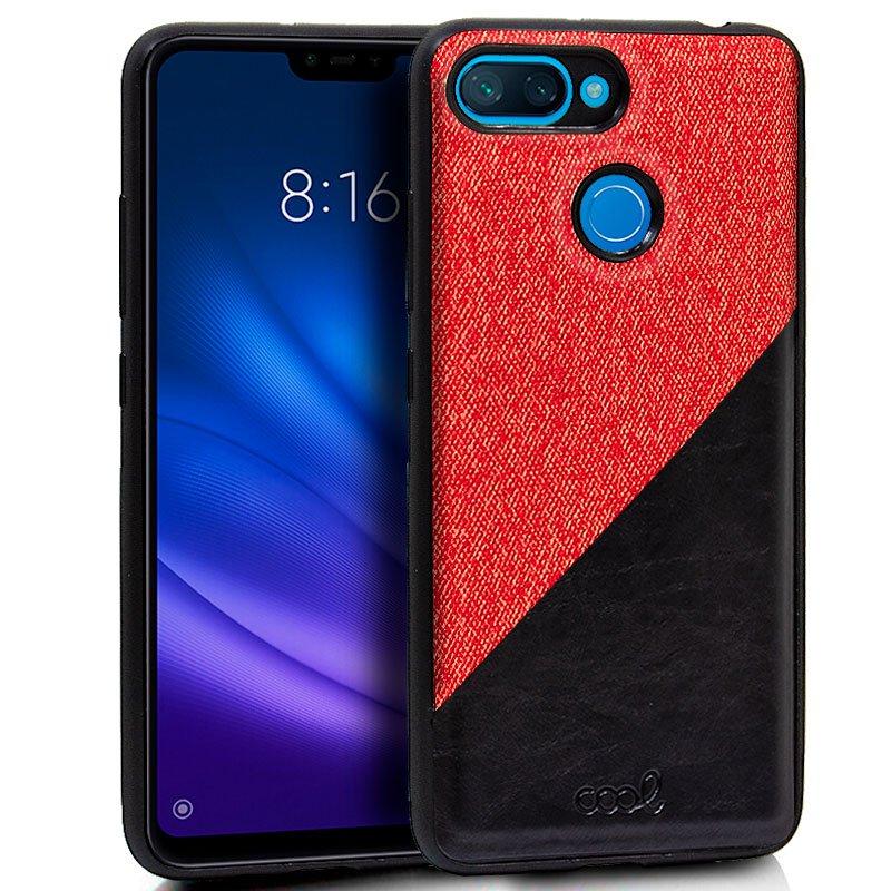 Carcasa Xiaomi Mi 8 Lite Bicolor Rojo