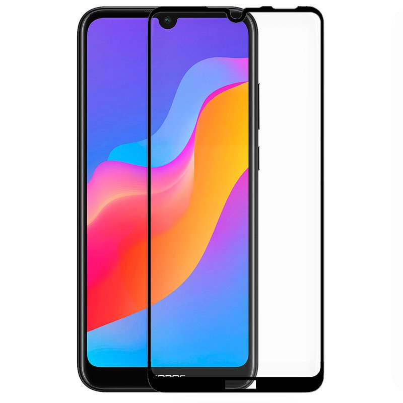 Protector Pantalla Cristal Templado Huawei Y6 (2019) / Y6s / Honor 8A (FULL 3D Negro)