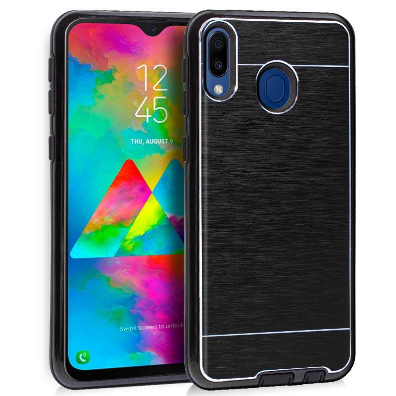 Carcasa Samsung M205 Galaxy M20 Aluminio Negro