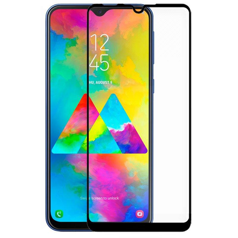 Protector Pantalla Cristal Templado COOL para Samsung M205 Galaxy M20 (FULL 3D Negro)