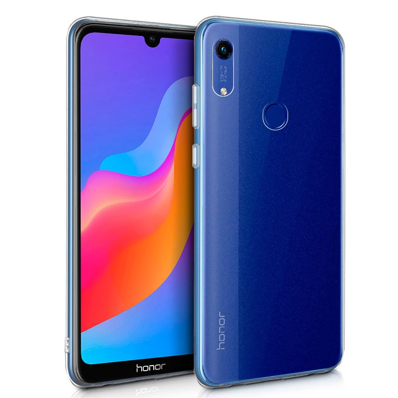 Funda Silicona Huawei Y6 (2019) / Honor 8A (Transparente)