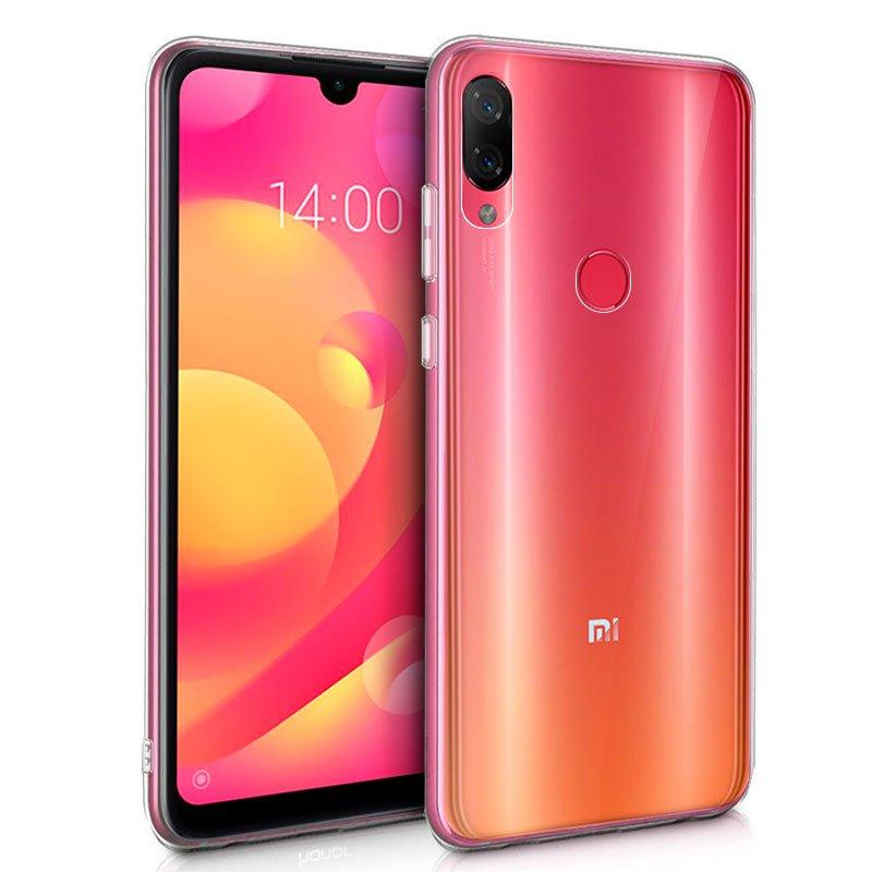 Funda Silicona Xiaomi Mi Play (Transparente)