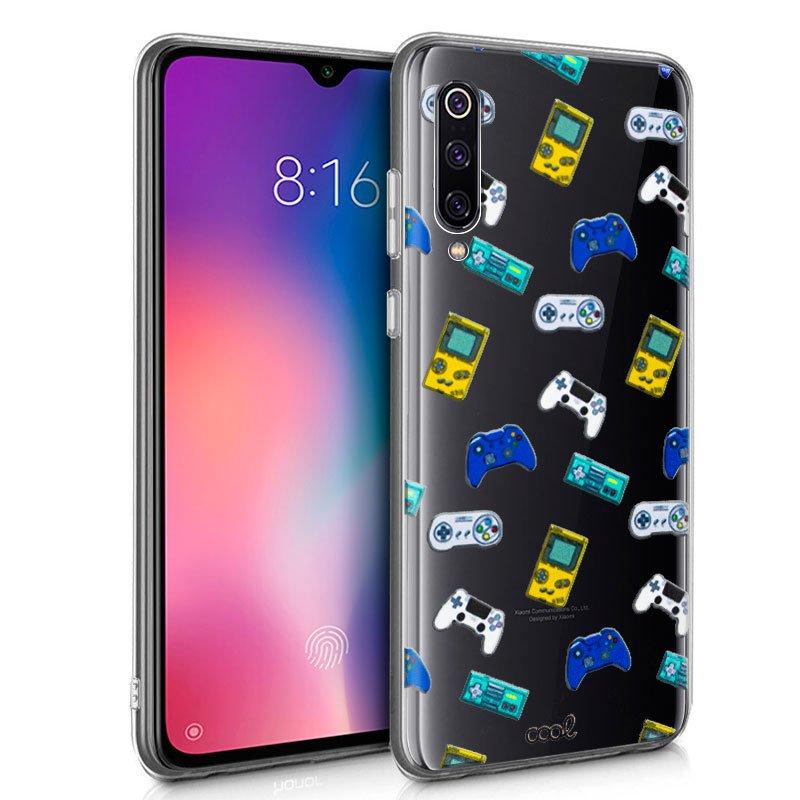 Carcasa Xiaomi Mi 9 Clear Consolas