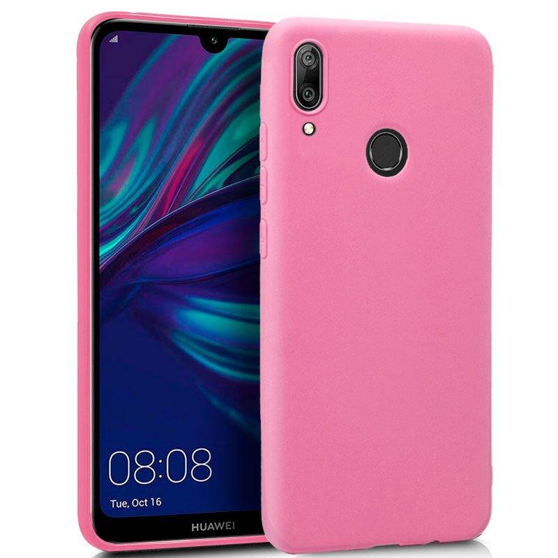 Funda Silicona Huawei Y7 (2019) Rosa