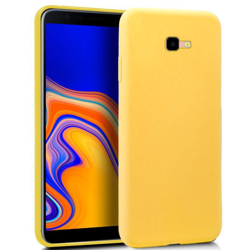 Funda Silicona Samsung J415 Galaxy J4 Plus (Amarillo)