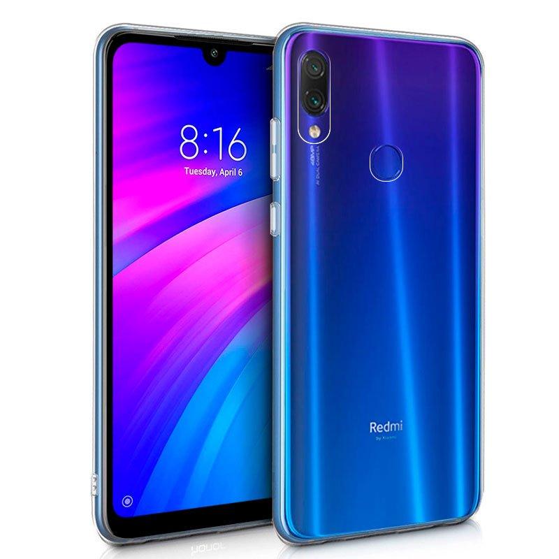 Funda Silicona Xiaomi Redmi 7 (Transparente)