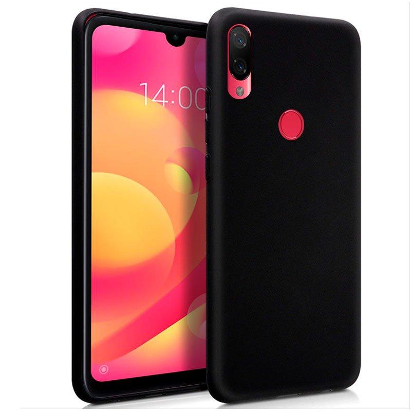 Funda Silicona Xiaomi Mi Play (Negro)