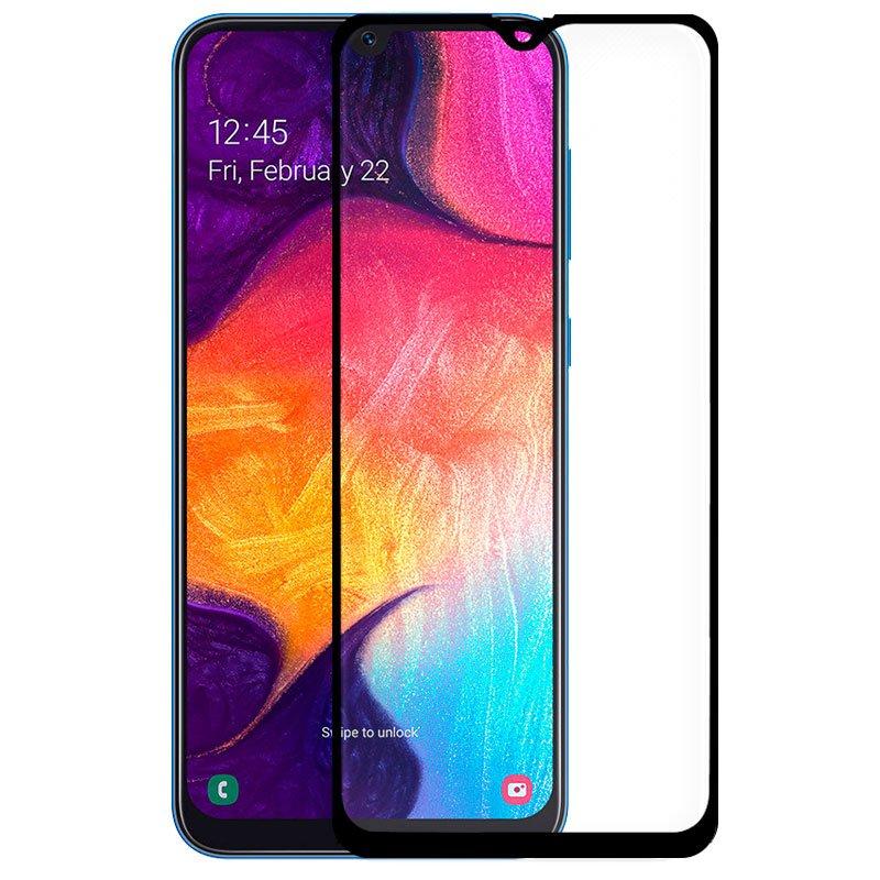 Protector Pantalla Cristal Templado Samsung A505 Galaxy A50 / A30s / M21 / M31 (FULL 3D Negro)