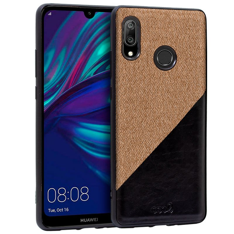 Carcasa Huawei Y7 (2019) Bicolor Beige