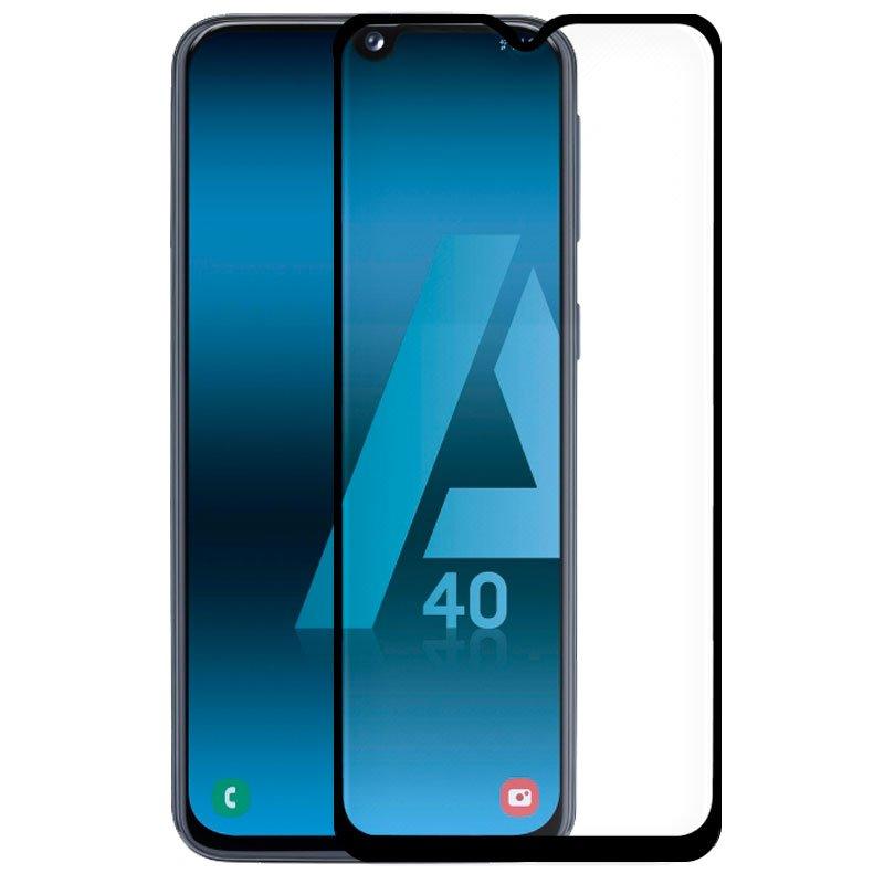 Protector Pantalla Cristal Templado COOL para Samsung A405 Galaxy A40 (FULL 3D Negro)