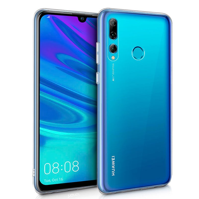 Funda Silicona Huawei P Smart Plus (2019) / P Smart (2019) / Honor 10 Lite / 20 Lite (Transparente)