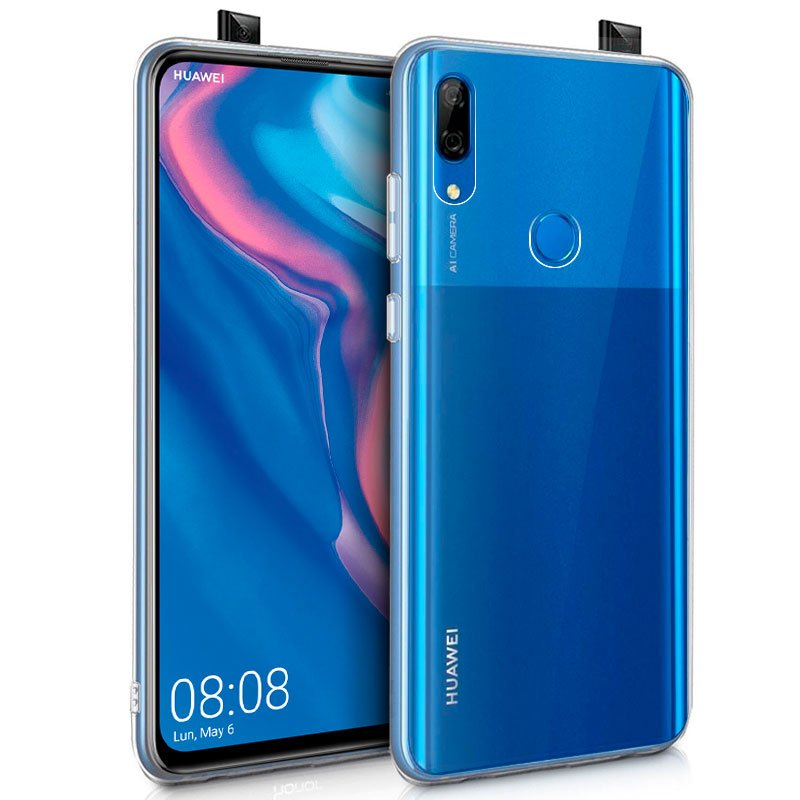 Funda Silicona Huawei P Smart Z / Honor 9X (Transparente)