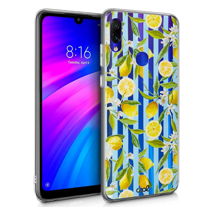 Carcasa Xiaomi Redmi 7 Clear Lemon