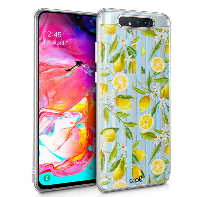 Carcasa Samsung A805 Galaxy A80 Clear Lemon