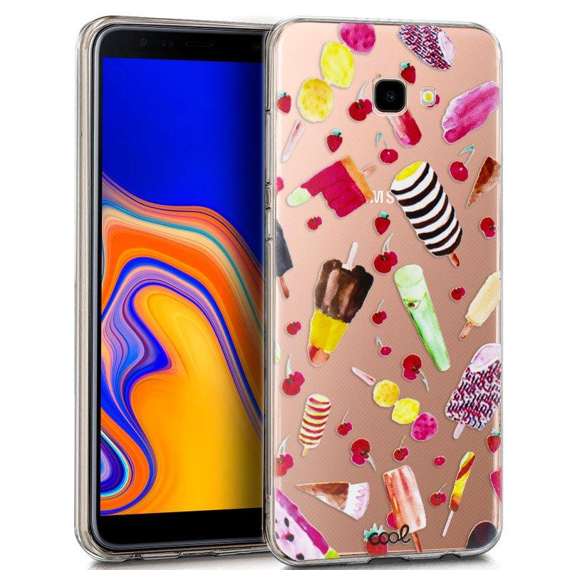 Carcasa Samsung J415 Galaxy J4 Plus Clear Helados