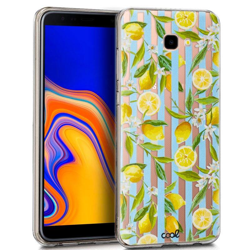 Carcasa Samsung J415 Galaxy J4 Plus Clear Lemon
