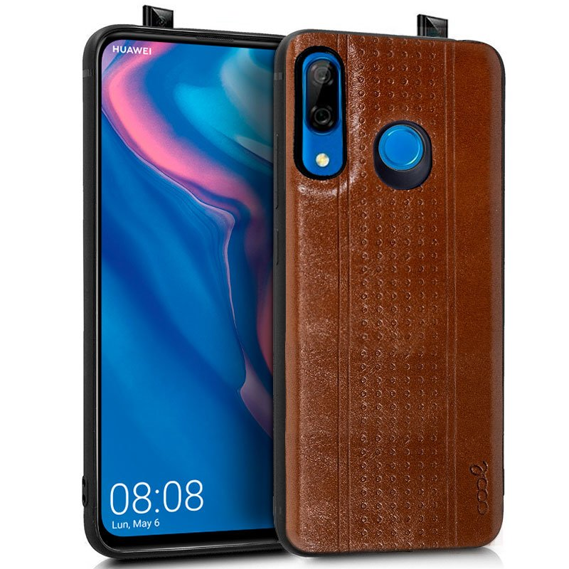 Carcasa Huawei P Smart Z / Honor 9X Leather Piel Marrón