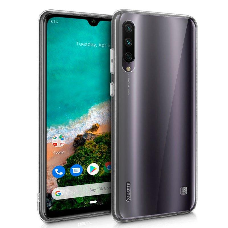 Funda Silicona Xiaomi Mi A3 (Transparente)
