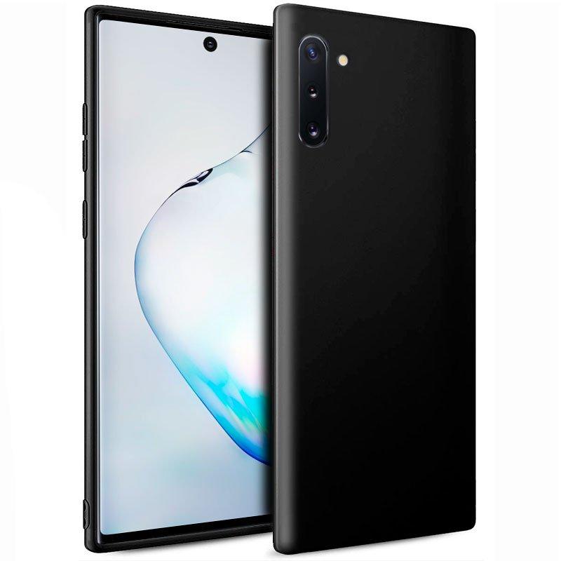 Funda Silicona Samsung N970 Galaxy Note 10 (Negro)