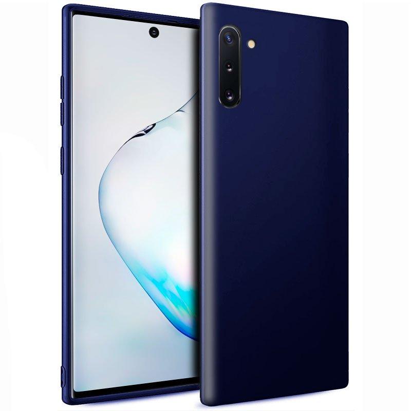 Funda Silicona Samsung N970 Galaxy Note 10 (Azul)