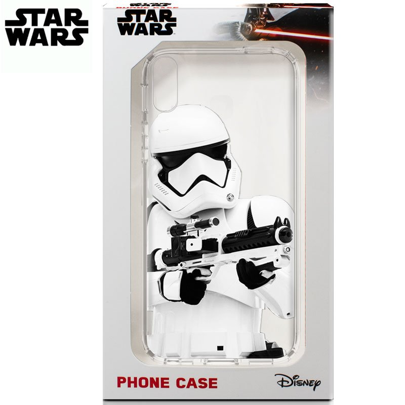 Carcasa iPhone XR Licencia Star Wars Stormtrooper