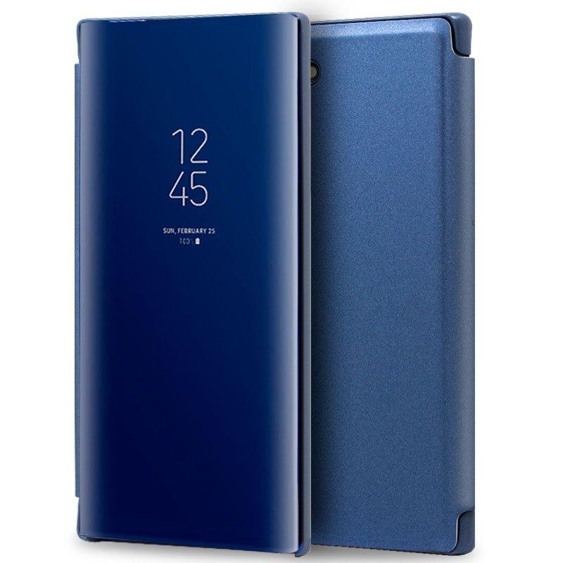 Funda Flip Cover Samsung N970 Galaxy Note 10 Clear View Azul