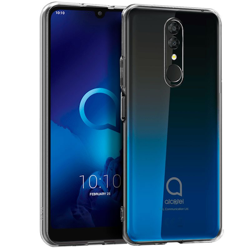 Funda Silicona Alcatel 3 (2019) Transparente