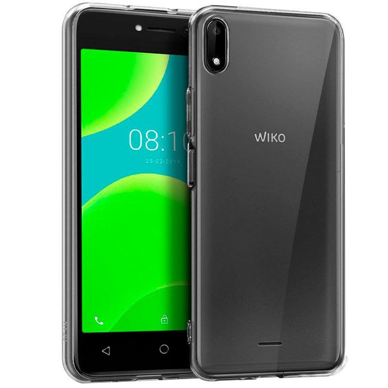Funda Silicona Wiko Y50 (Transparente)