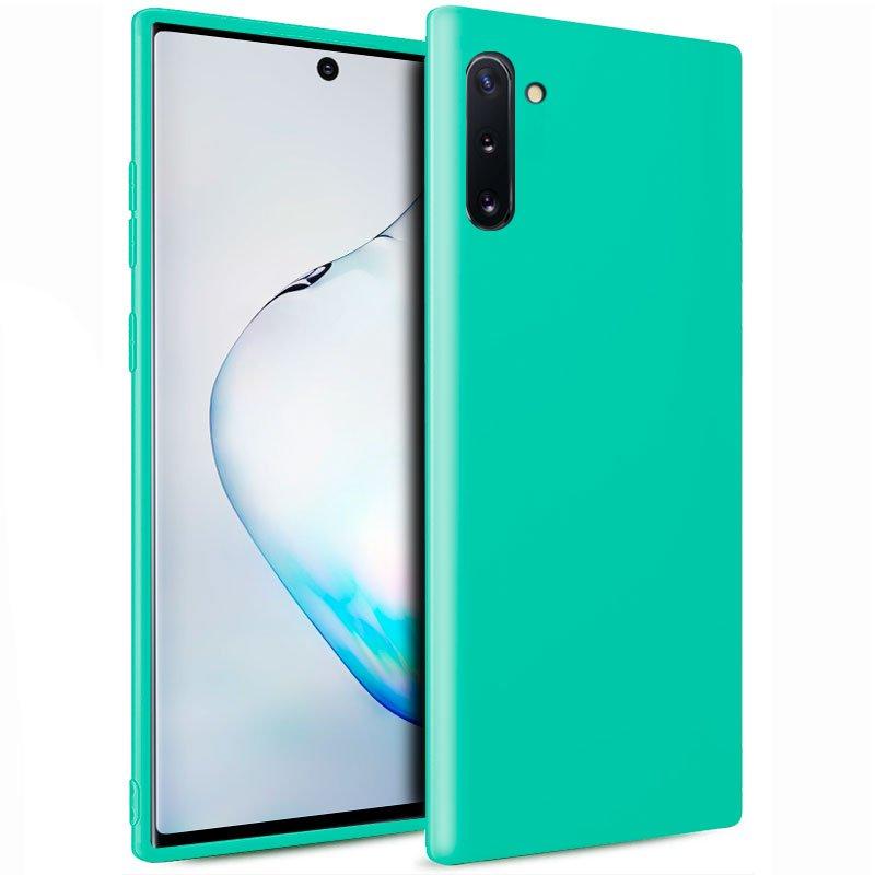 Funda Silicona Samsung N970 Galaxy Note 10 (Mint)
