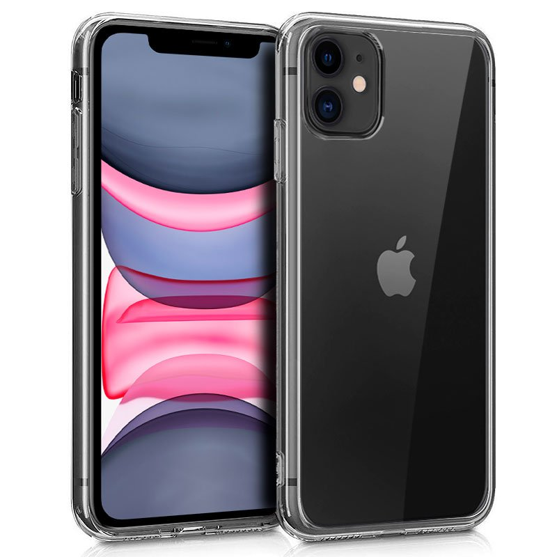 Funda Silicona iPhone 11 (Transparente)