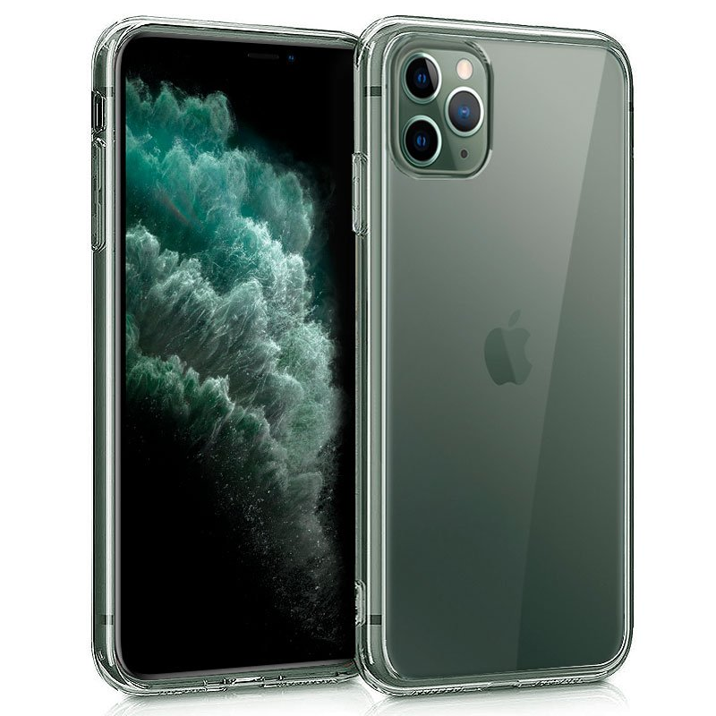 Funda Silicona iPhone 11 Pro Max (Transparente)