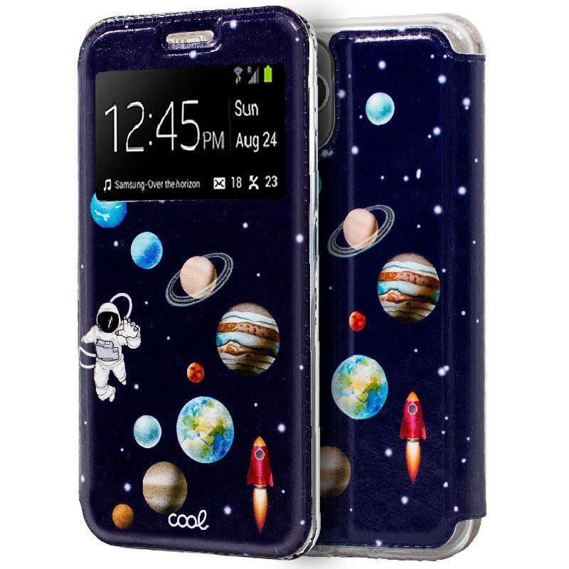 Funda Flip Cover iPhone 11 Pro Dibujos Astronauta