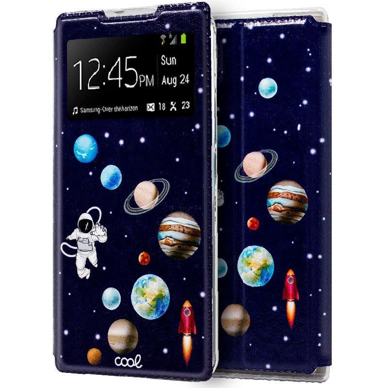 Funda Flip Cover Samsung N975 Galaxy Note 10 Plus Dibujos Astronauta