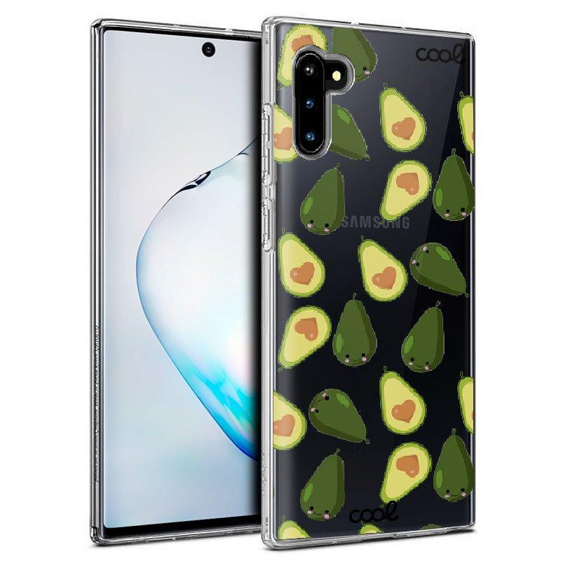 Carcasa Samsung N970 Galaxy Note 10 Clear Aguacates