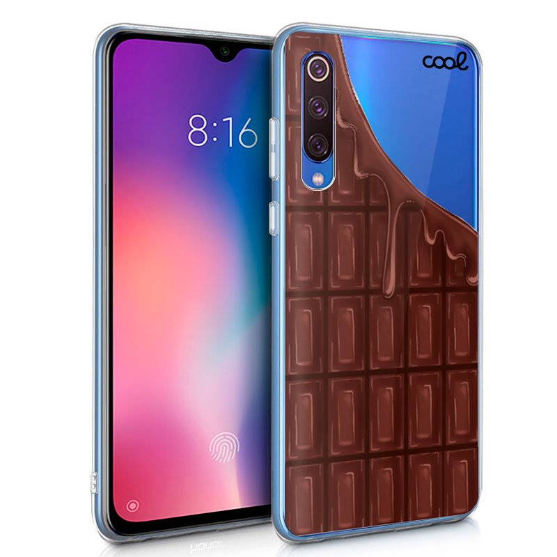 Carcasa Xiaomi Mi 9 SE Clear Chocolate