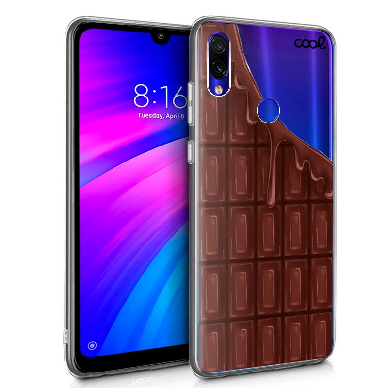 Carcasa Xiaomi Redmi 7 Clear Chocolate