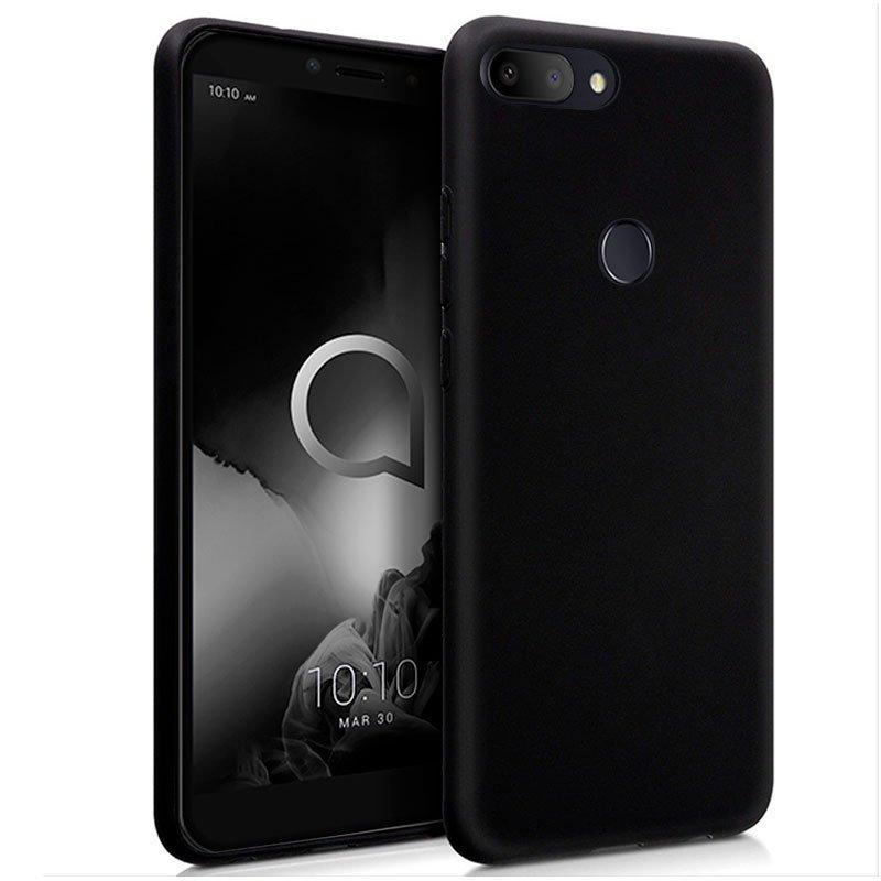 Funda Silicona Alcatel 1S / 1S (2019) Negro