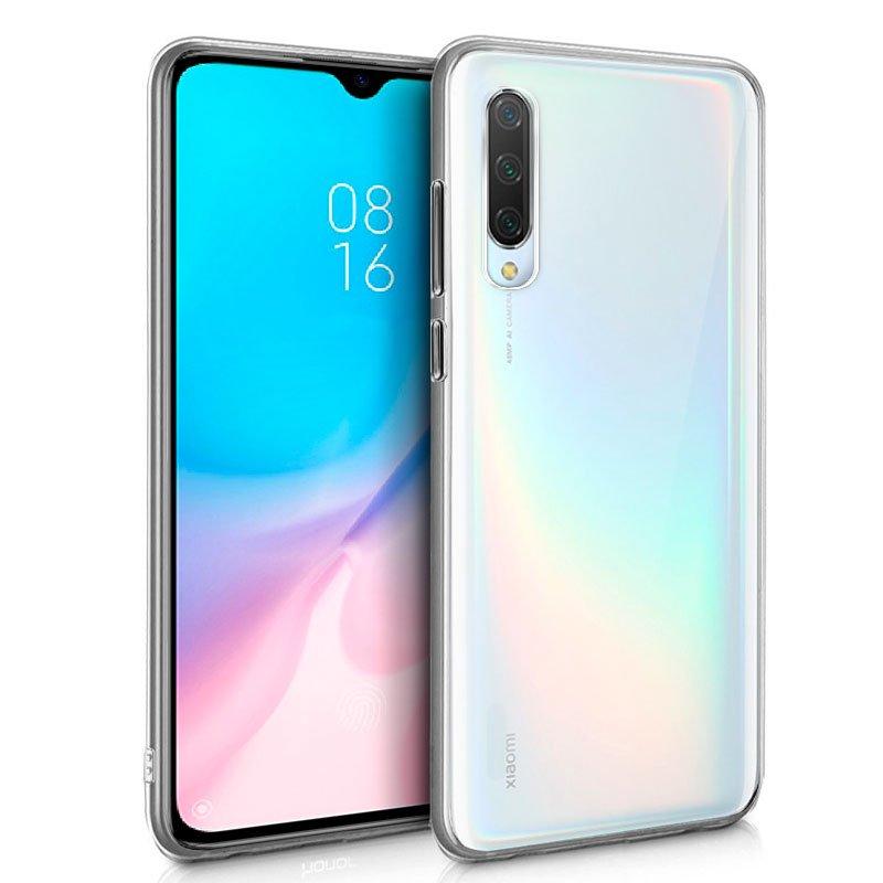 Funda Silicona Xiaomi Mi 9 Lite (Transparente)