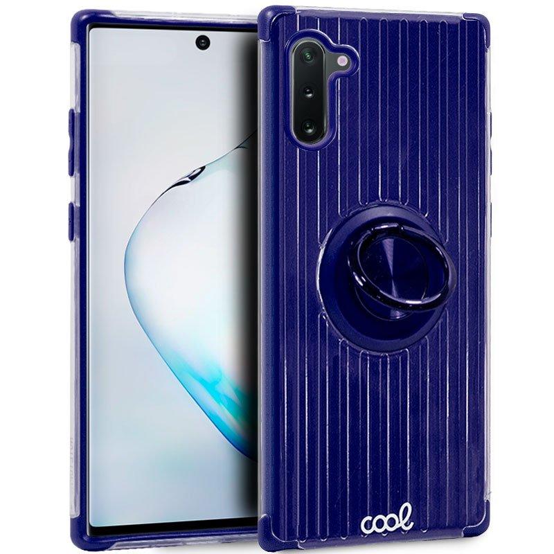 Carcasa Samsung N970 Galaxy Note 10 Hard Anilla Azul