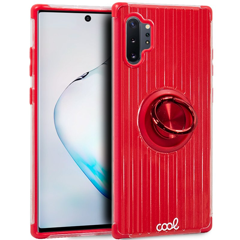 Carcasa Samsung N975 Galaxy Note 10 Plus Hard Anilla Rojo