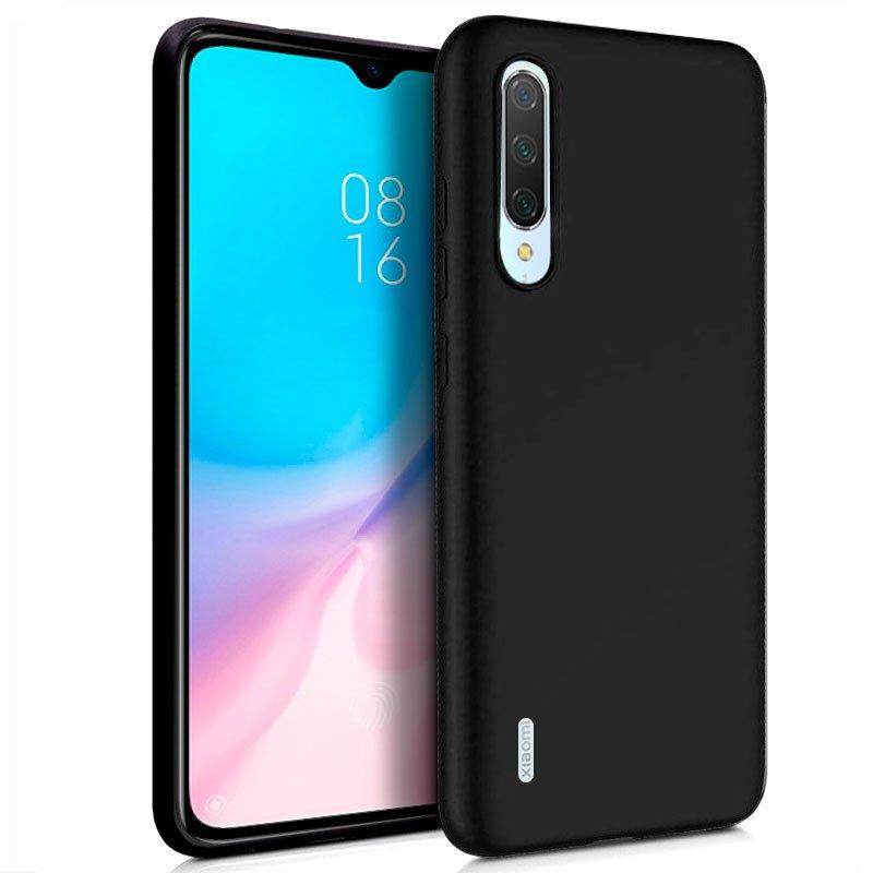 Funda Silicona Xiaomi Mi 9 Lite (Negro)