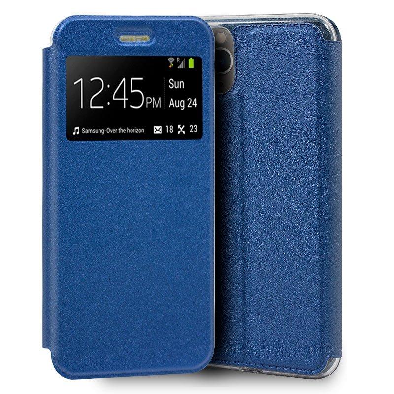 Funda Flip Cover iPhone 11 Pro Liso Azul