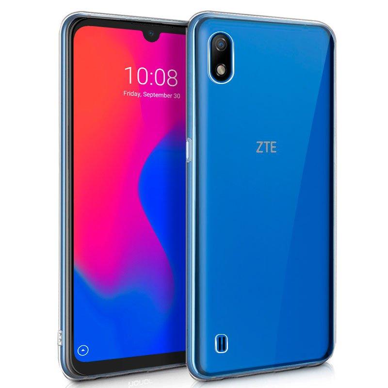 Funda Silicona ZTE Blade A7 2019 (Transparente)